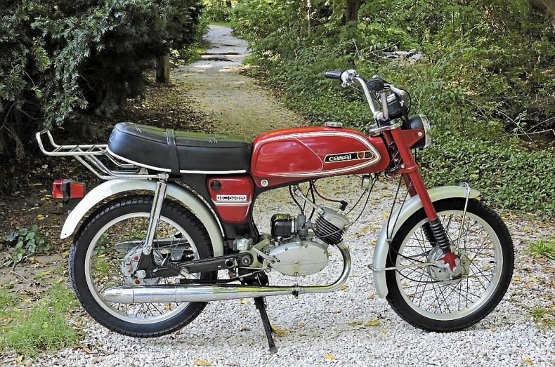 Veteran moped sökes