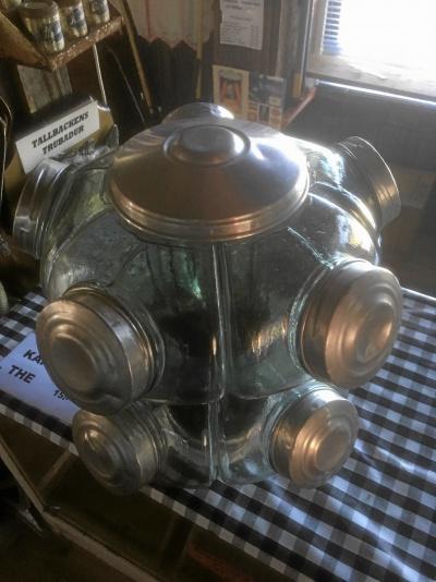 Godisskålar i glas från Nostalgi Lanthandel