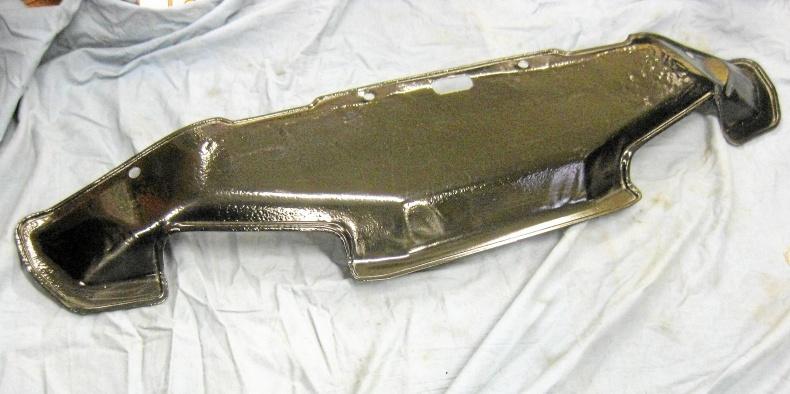 Till Cadillac 1963-64 skyddsplåt under kylare