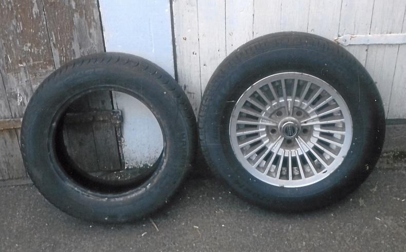 Turbinfälgar med däck