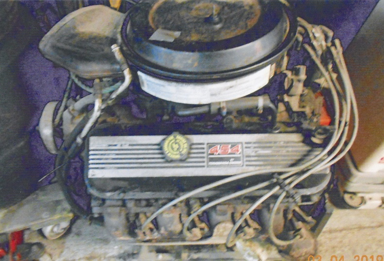 Chevrolet 454 cui motor