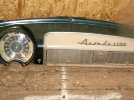 Simca Aronde -56 instrumentbräda
