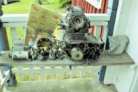 Honda 125CB B6 Motor