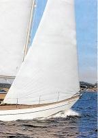 Klassisk segelbåt Vindö 45