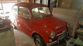 Fiat 600 convertible