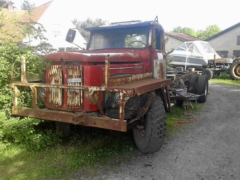 Scania 85 l og Scania 56 l