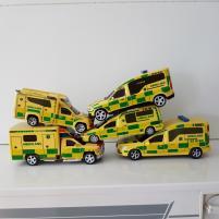Handgjorda ambulanser