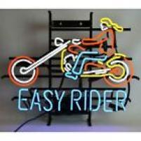 Neonskylt Easy Rider