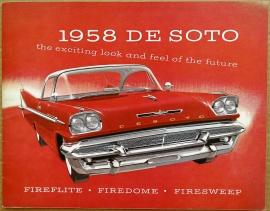 Broschyr De Soto 1958 i storformat