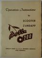 Zündapp Bella 200 instruktionsbok 1954