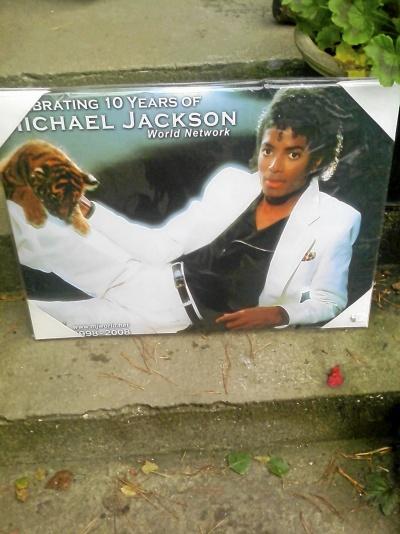 Tavla/planch Michael Jackson