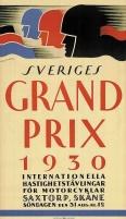 Saxtorps GP legendariska affisch 1930