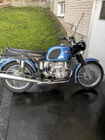 Äldre motorcyckel köpes HD Honda