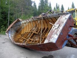 Flottningsbåt Plåteka