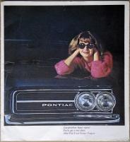 Broschyr Pontiac Tempest 1964 i storformat