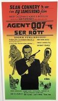 Agent 007 ser rött - Bioaffisch.