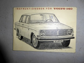 Instruktionsbok för VOLVO 140
