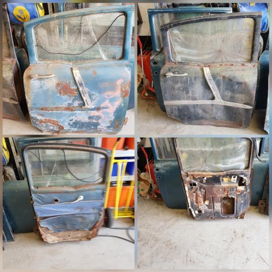 Chevrolet dörrar 1955-1957/ motor m.m.