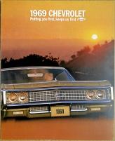 Broschyr Chevrolet full-size 1969
