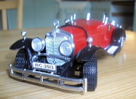 1:24 MERCEDES BENZ SSK -34
