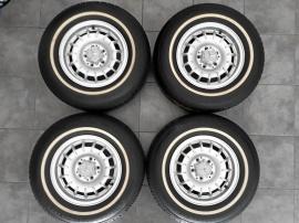 MB 4 st Barockfälgar med däck