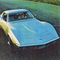 Originalbroschyr Chevrolet Corvette i prima skick