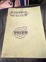 Reservdelsprislista Volvo