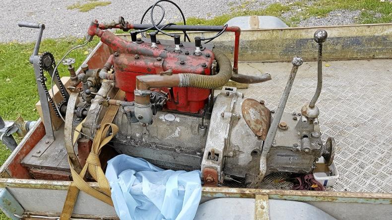 Citroen B2 motor 1920
