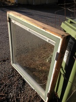 Kopplade fönster, rostfri diskbänk 180x60