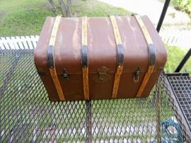 USA-koffert till veteranbil