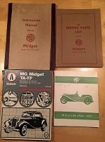 MG TA Midget 1936 delar