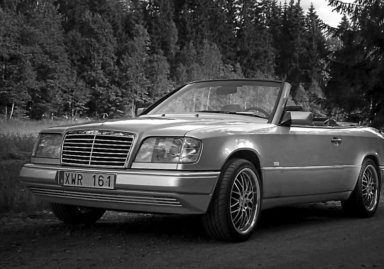 Mercedes-Benz W124 cab
