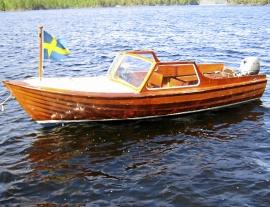 Mahognybåt