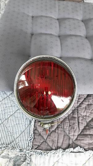 Belysning polisbil