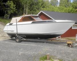 Unik Norrskär båt totalrenoverad 2003