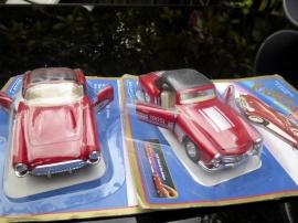 Corvette och Mercedes