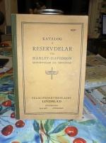 Harley Davidsson katalog reservdelar ifrån 1930 !