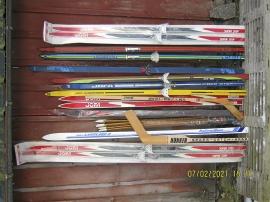 Oanvända nostalgi skidor 1970-90-tal