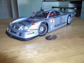 1:18 MERCEDES CLK-GTR Racing
