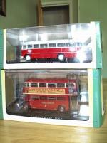 Bussar Ikarus 311 1959 och Layland RTW 1957