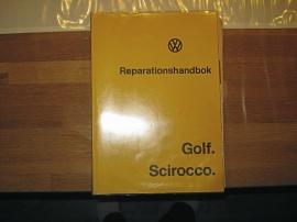 Reparationshandbok till VW Golf I och Scirocco