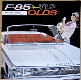 Broschyr Oldsmobile F85 1962