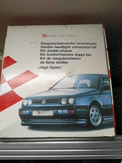 Dubbelstrålkastare Golf III