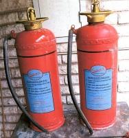 2 st brandsläckare