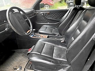 2 st Mercedes-Benz 560 SEC & 500 SEC