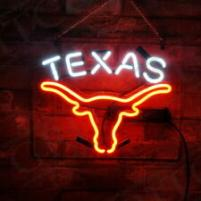 Neonskylt Texas Longhorn