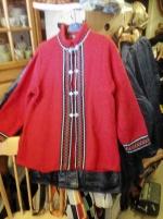 Norsk tröja jacka med hakar