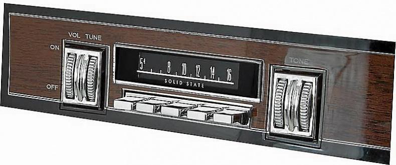 Originalradio 1968 Mopar B-Body