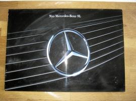 Försäljningsbroschyr Mercedes SL R129