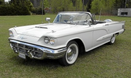 mobile_Ford Thunderbird convertible
